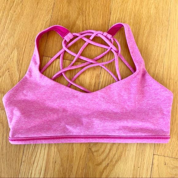b310f7caf3 lululemon athletica Other - Free to Be Wild strappy sports bra size 6 - EUC